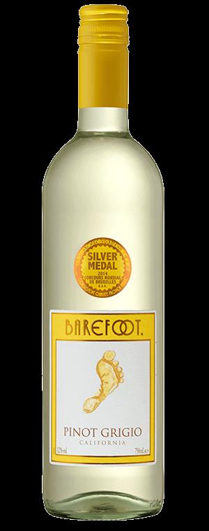 Barefoot wine Pinot Grigio