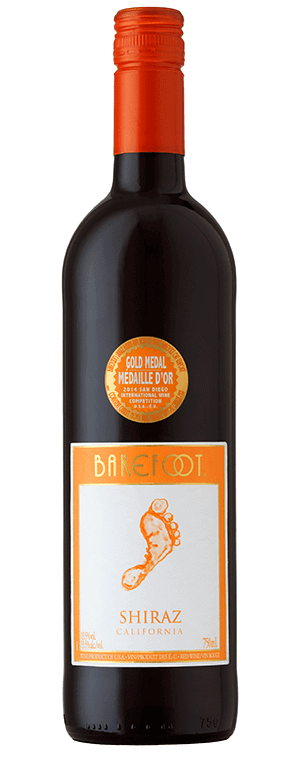 Barefoot wine Shiraz