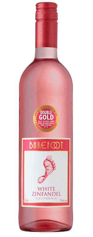 Barefoot wine White Zinfandel
